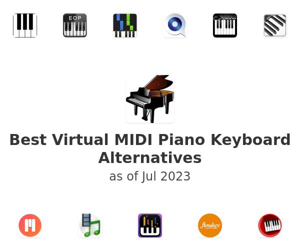 Best Virtual MIDI Piano Keyboard Alternatives