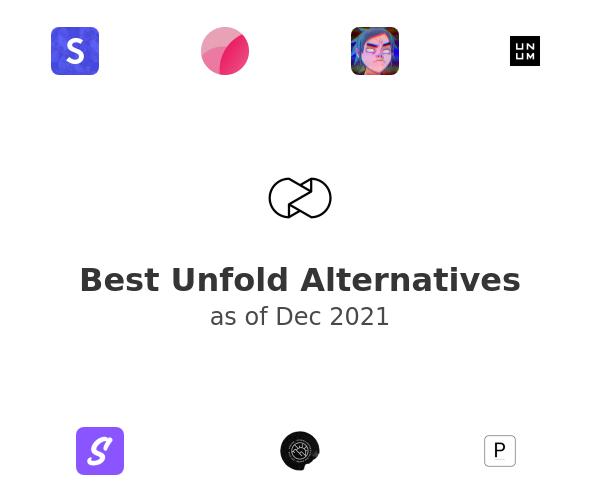 Best Unfold Alternatives