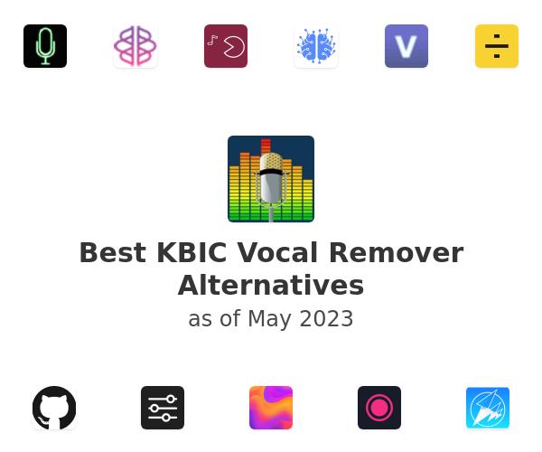 Best Vocal Remover Alternatives