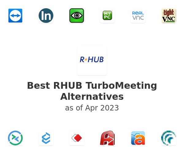 Best RHUB TurboMeeting Alternatives