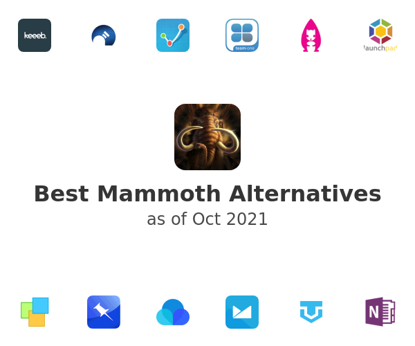 Best Mammoth Alternatives