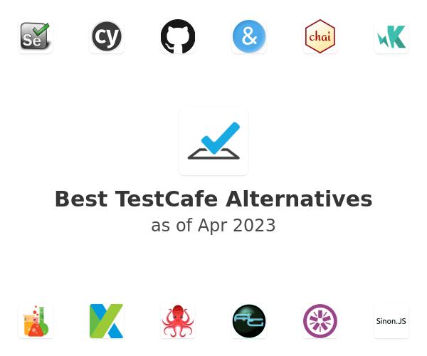 Best TestCafe Alternatives