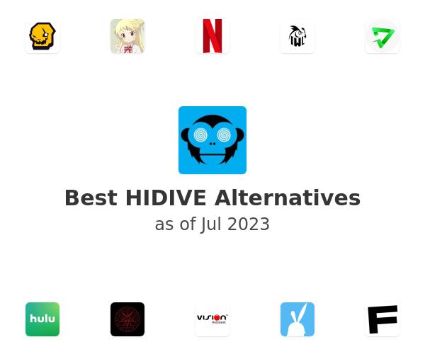 Best HIDIVE Alternatives
