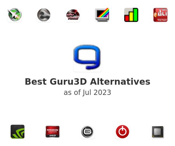 Best Guru3D Alternatives