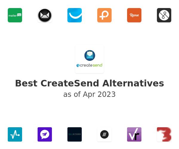 Best CreateSend Alternatives
