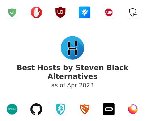 Best Hosts by Steven Black Alternatives