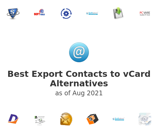 Best Export Contacts to vCard Alternatives