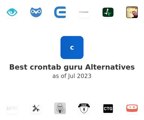 Best crontab guru Alternatives