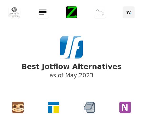 Best Jotflow Alternatives