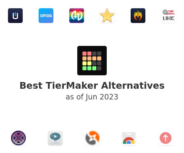 Best TierMaker Alternatives