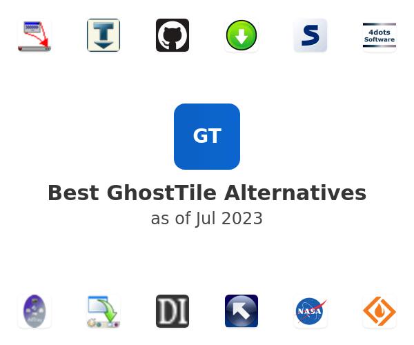 Best GhostTile Alternatives