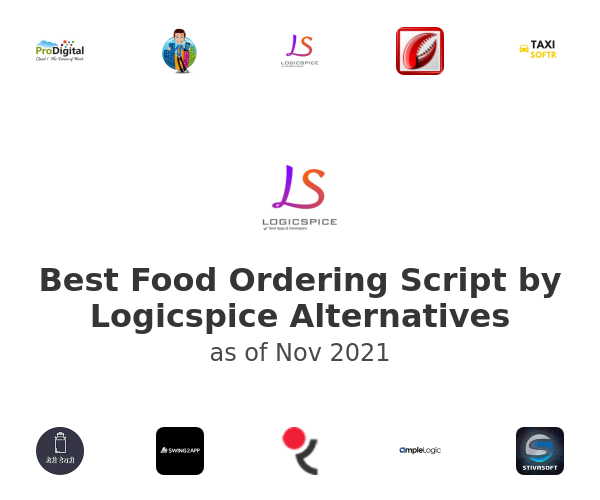 Best Food Ordering Script by Logicspice Alternatives