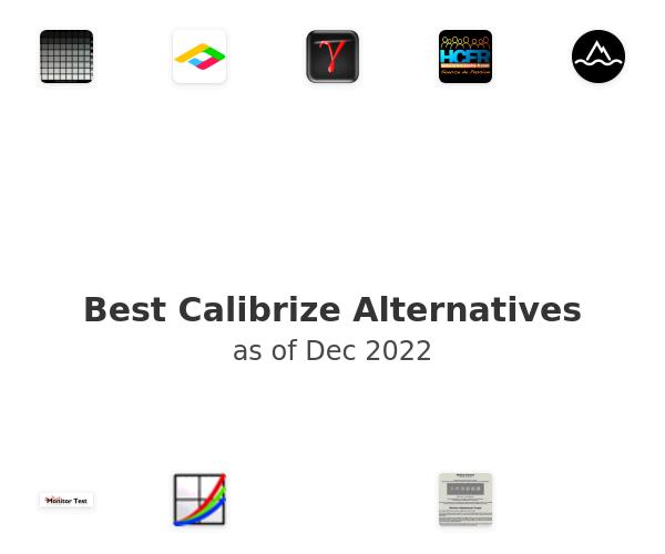 Best Calibrize Alternatives