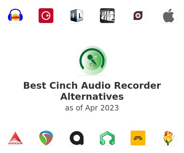 Best Cinch Audio Recorder Alternatives