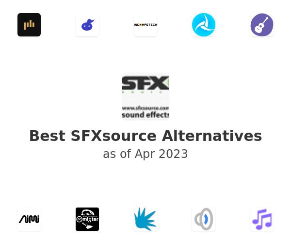 Best SFXsource Alternatives