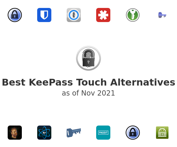 Best KeePass Touch Alternatives