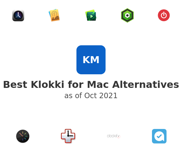 Best Klokki for Mac Alternatives