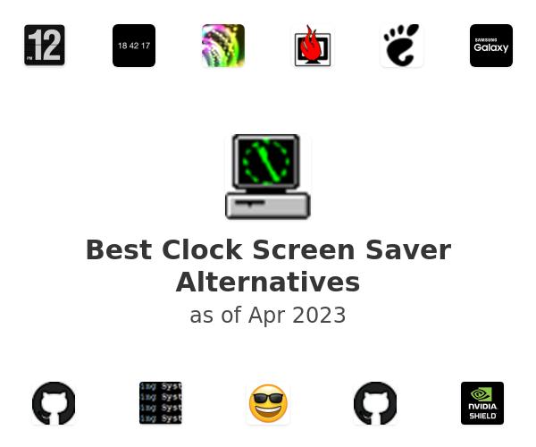 Best Clock Screen Saver Alternatives