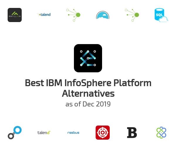 Best IBM InfoSphere Platform Alternatives