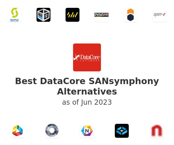 Best DataCore SANsymphony Alternatives