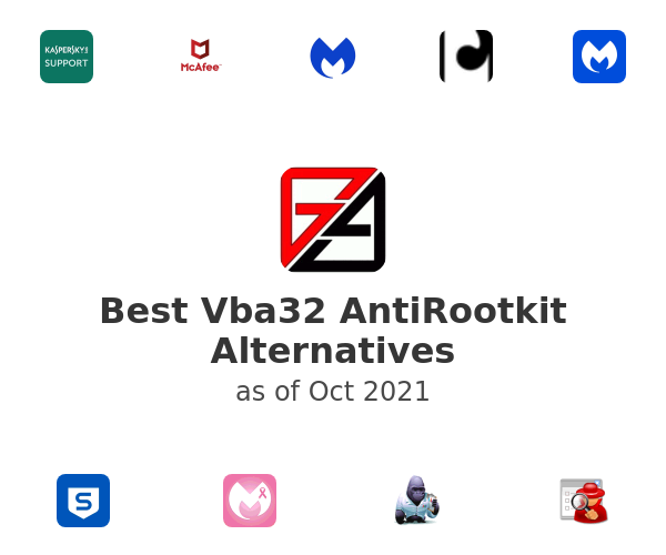 Best Vba32 AntiRootkit Alternatives