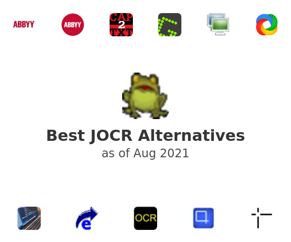 Best JOCR Alternatives