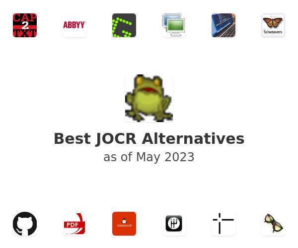 Best JOCR Alternatives