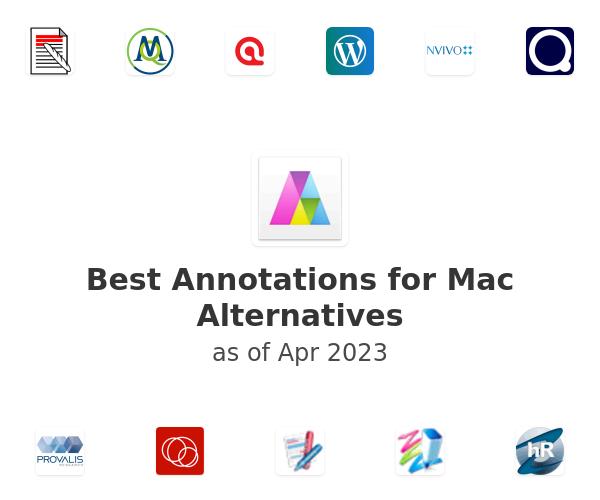 Best Annotations for Mac Alternatives