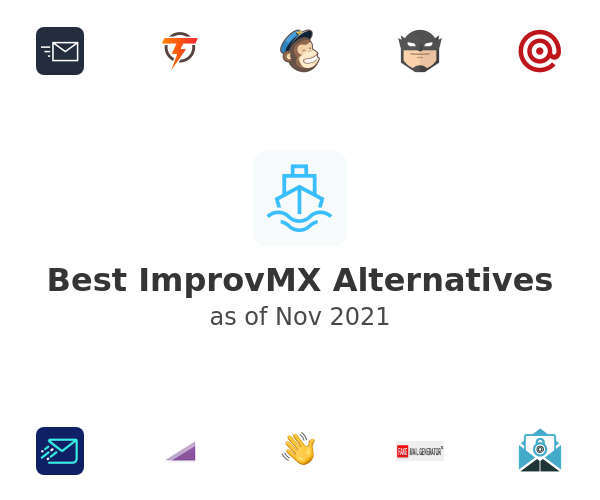 Best ImprovMX Alternatives