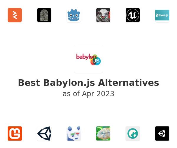 Best Babylon.js Alternatives