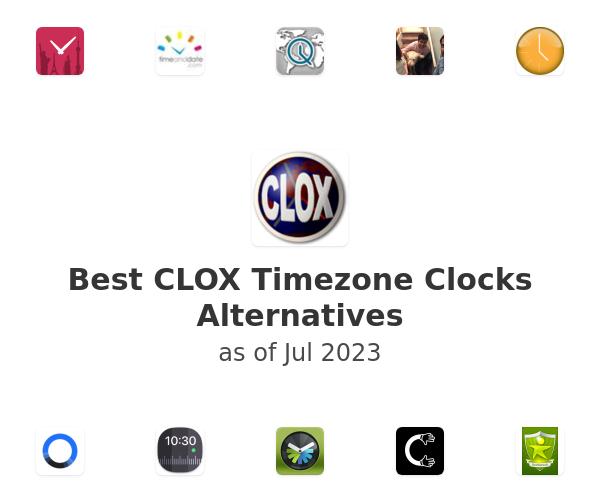 Best CLOX Timezone Clocks Alternatives