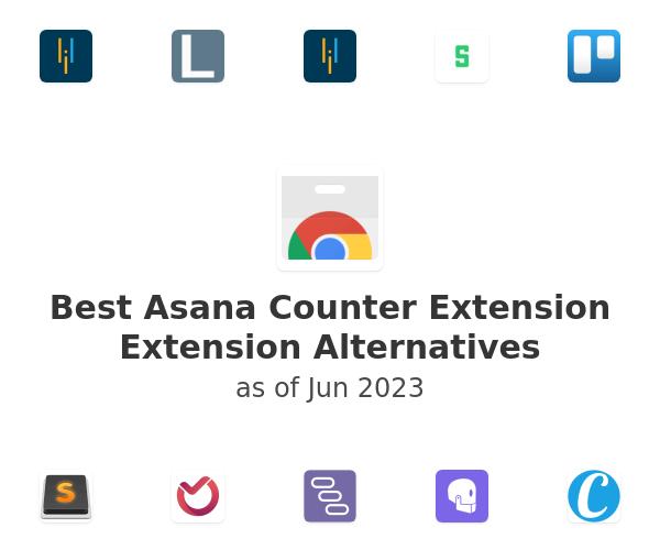 Best Asana Counter Extension Alternatives