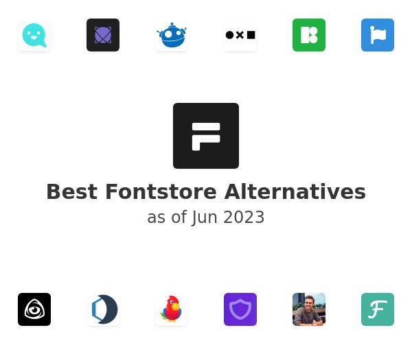Best Fontstore Alternatives