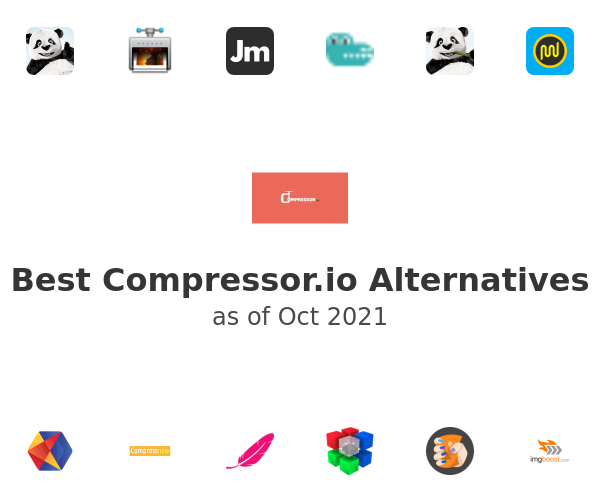 Best Compressor.io Alternatives
