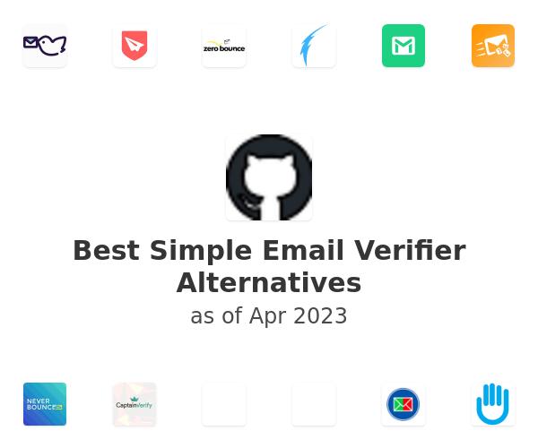 Best Simple Email Verifier Alternatives