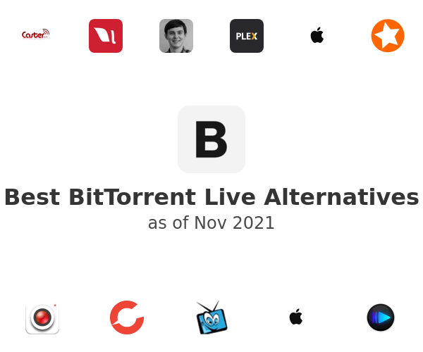 Best BitTorrent Live Alternatives