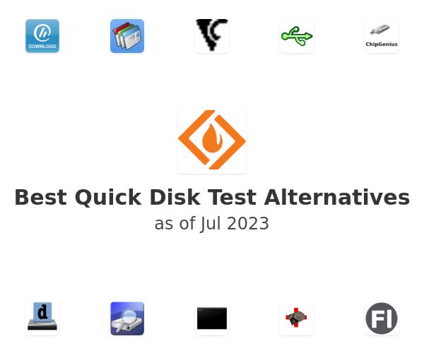 Best Quick Disk Test Alternatives