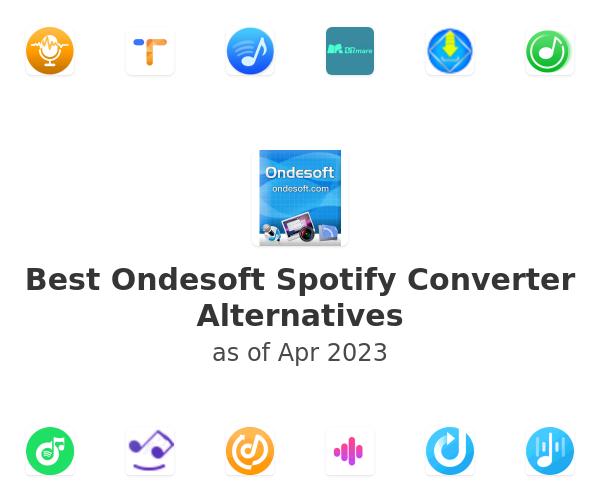 Best Ondesoft Spotify Converter Alternatives