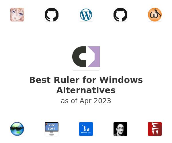 Best Ruler for Windows Alternatives