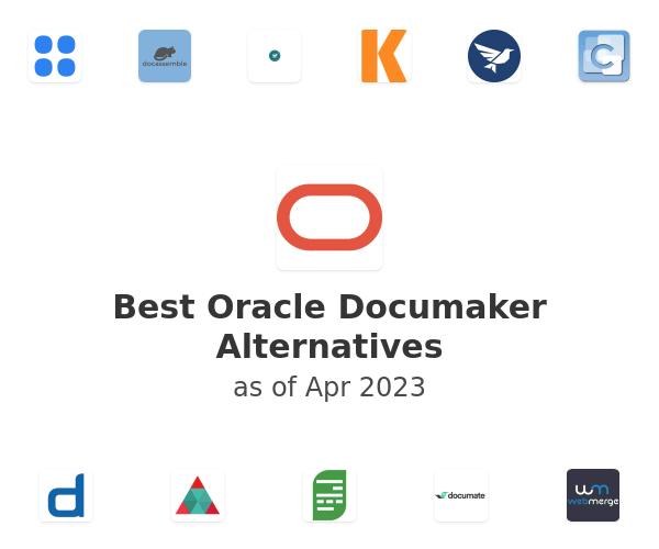 Best Oracle Documaker Alternatives
