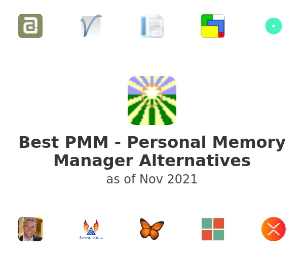 Best PMM - Personal Memory Manager Alternatives