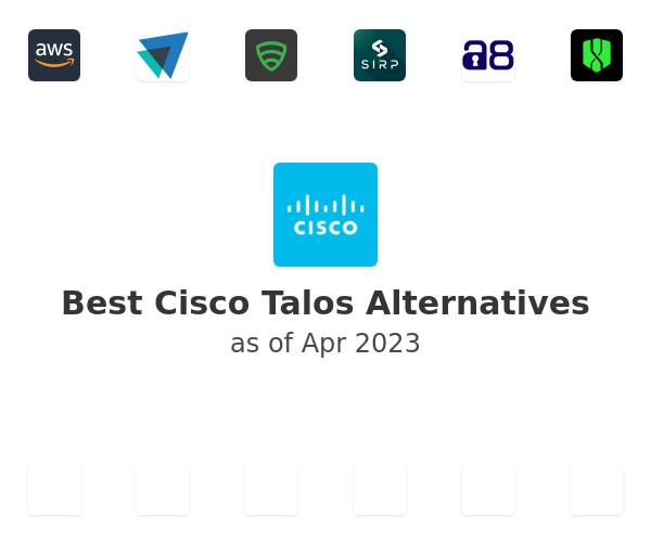Best Cisco Talos Alternatives