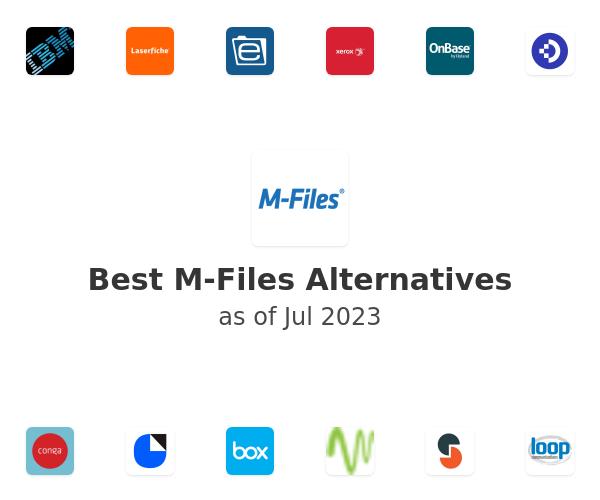 Best M-Files Alternatives