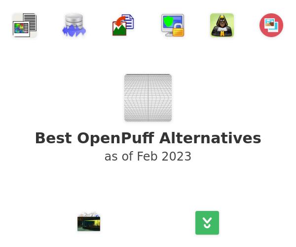 Best OpenPuff Alternatives