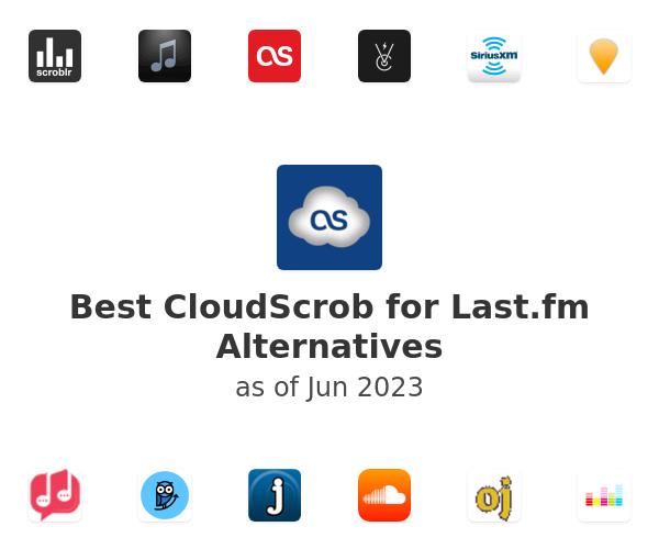 Best CloudScrob for Last.fm Alternatives
