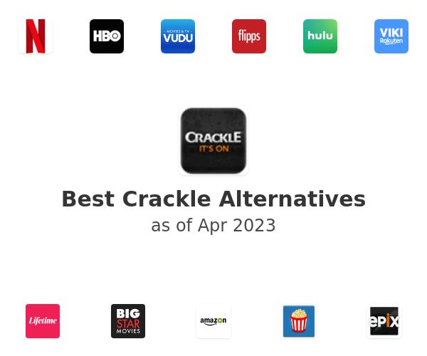 Best Crackle Alternatives