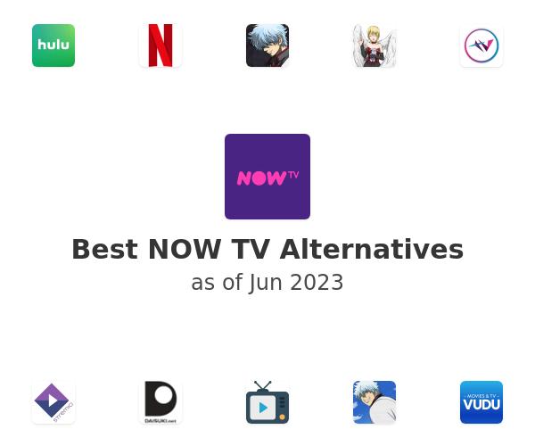 Best NOW TV Alternatives