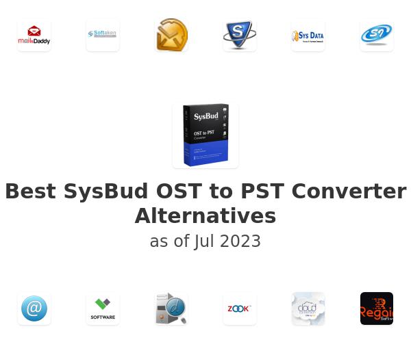 Best SysBud OST to PST Converter Alternatives