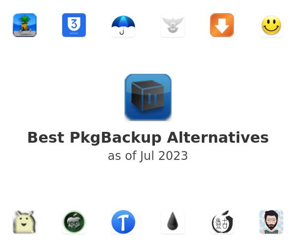 Best PkgBackup Alternatives