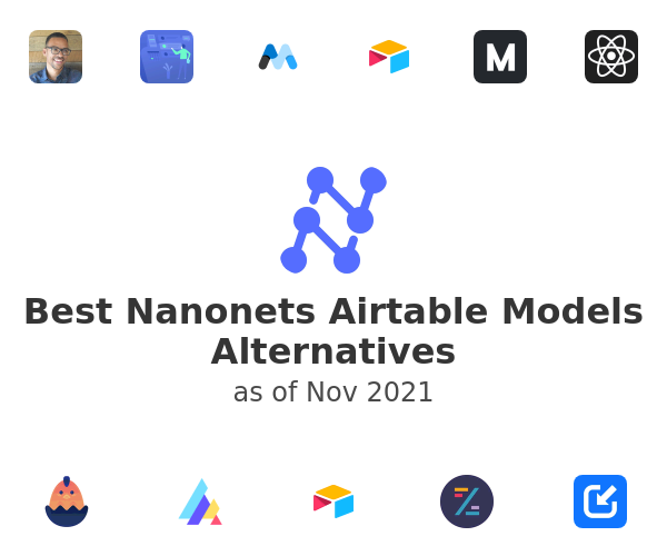 Best Nanonets Airtable Models Alternatives
